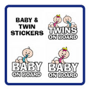 Baby / Twins Stickers
