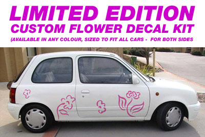Limited Edition Flower Kit - Suits any car - Any colour